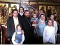 о. Александр с семьёй  19.01.2013